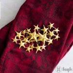 high on SHOOTING STAR HAIR CLIP diy