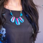 high on COLORBLOCK NECKLACE diy