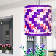 DIY Duct Tape Lamp Shade
