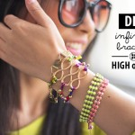 high on INFINITY BEADED BRACELET diy
