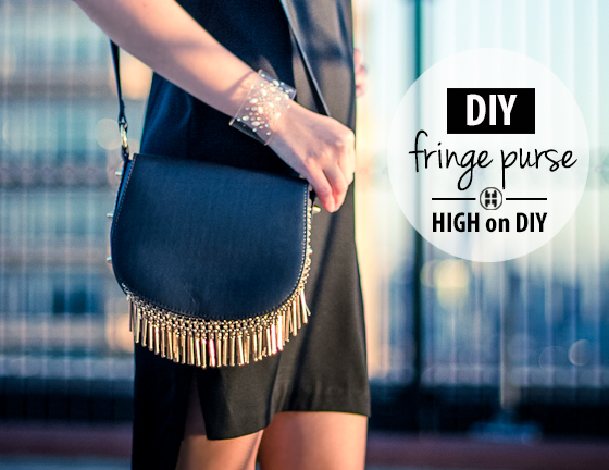 DIY_Gold, Metal_Fringe_Purse_Bag