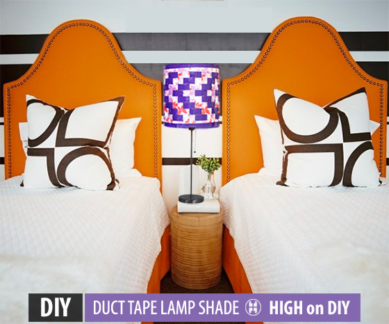 DIY_Duct_Duck_Tape_Pendant_Lamp_Shade6